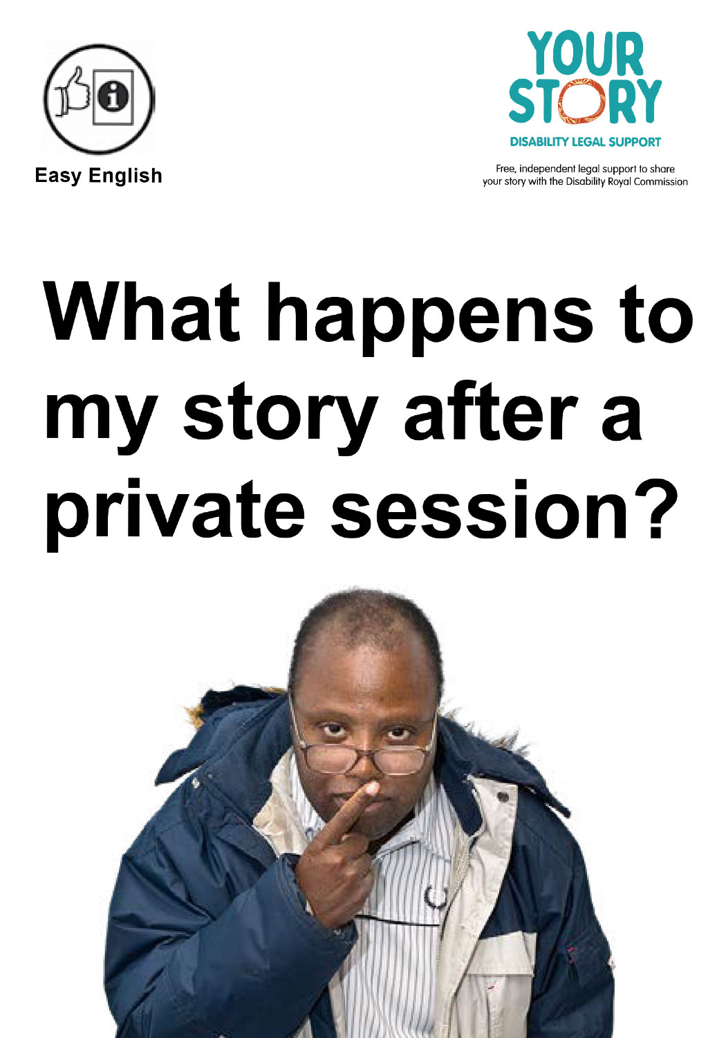 What happens to my story after a private session